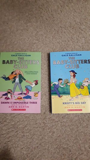 Smile, Sisters and baby sitters club books for Sale in Alexandria, VA