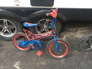 "Huffy 16"" Spider-Man kids bike for Sale in Powhatan, VA"