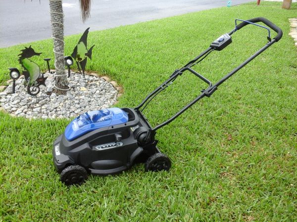 Kobalt 16 Quot Cordless Electric Mower Home Amp Garden In