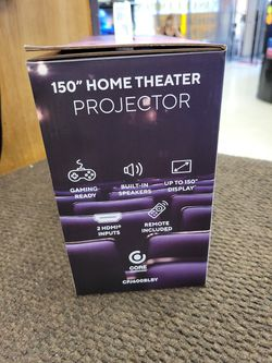 Core Innovation Home Theater Projector 📽️ Thumbnail