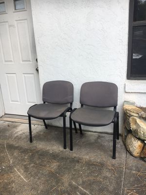 Waiting chairs set of 2 for Sale in DeLand, FL