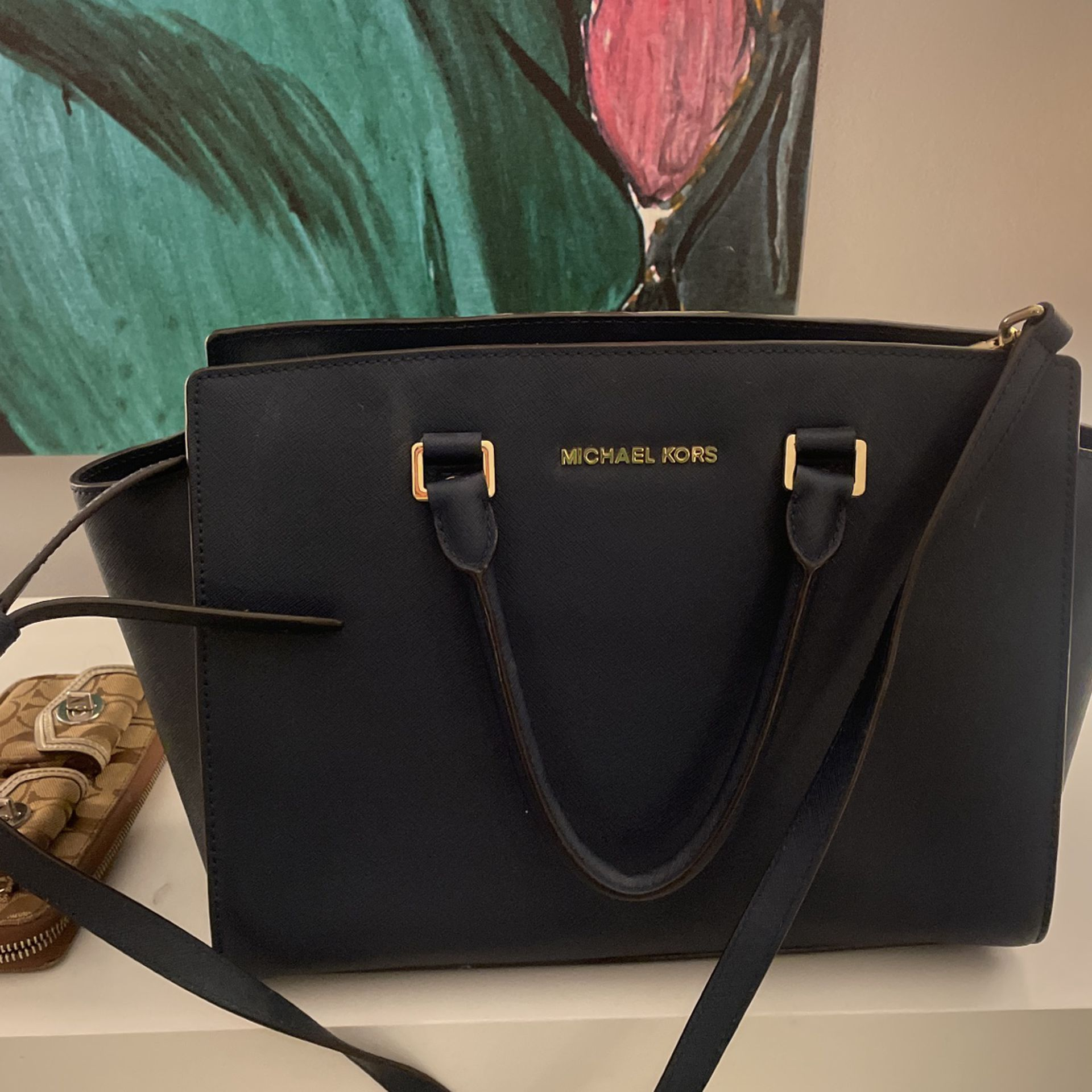 Navy Michael Lord Classic Sutton Bag