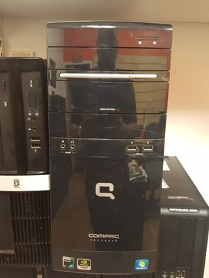 Excellent hp compaq computer tower run and working for Sale in Orlando, FL