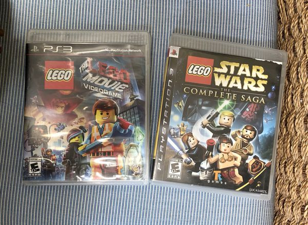 New Lego Games For Ps3 : Lego playstation games star wars lego movie for sale in