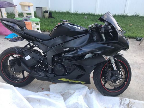 09 Kawasaki Ninja Zx6r For Sale In Miami Fl Offerup