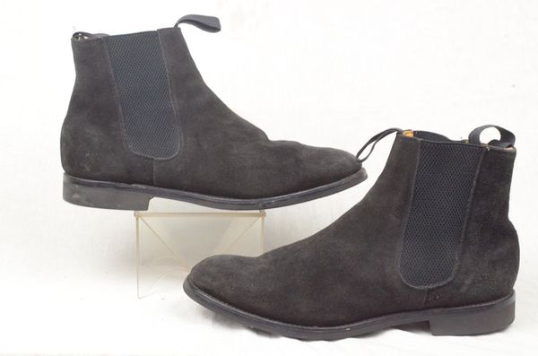 9a386b30b6e3 Loake Black Suede Chelsea Boot 12 Mens - Chatterley Chatsworth Mitchum  Hickstead for Sale in Los Angeles