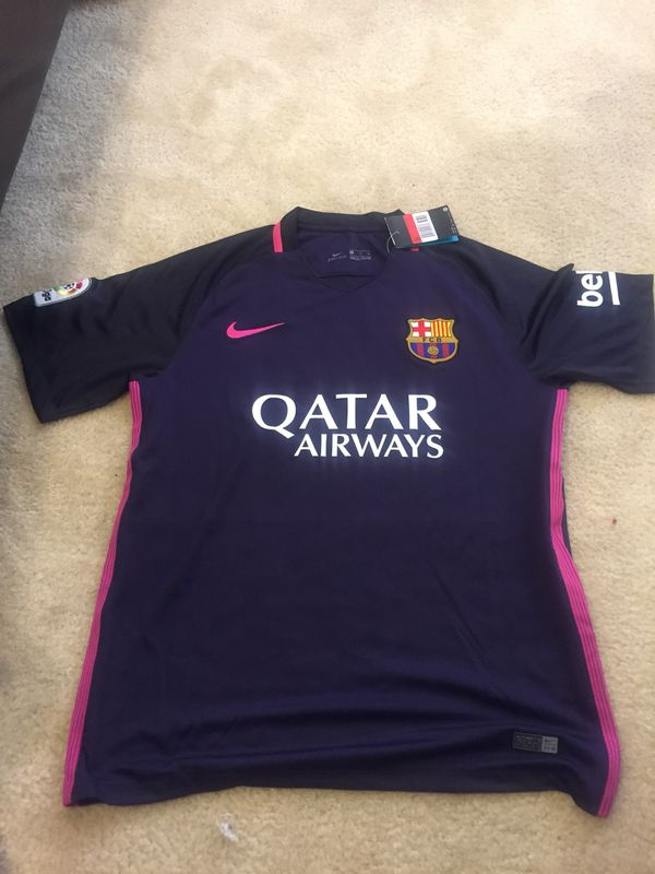 uk availability e8699 c3a3f Nike Barcelona Neymar jersey brand new with tags original for $30 for Sale  in Oakland, CA - OfferUp