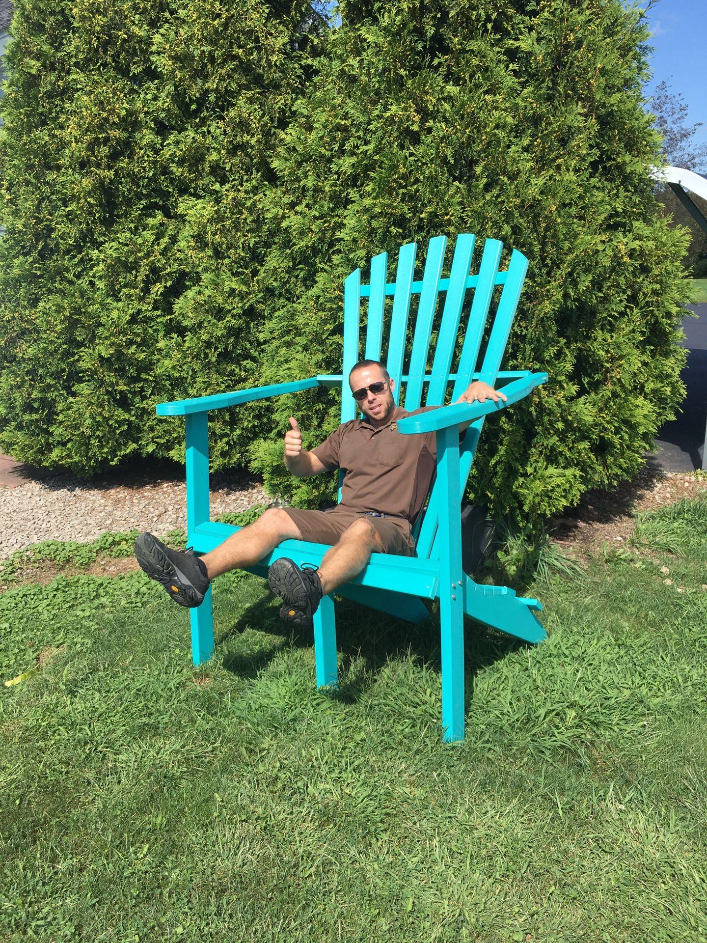 Large Chair Poloywood