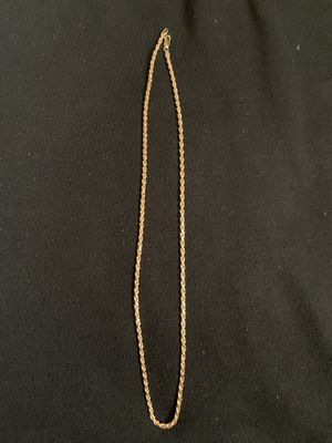 Photo Rope gold chain