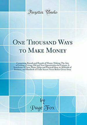 One thousands ways to make money eBook for Sale in New York, NY