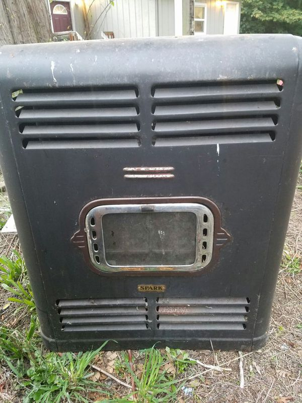 Two Antique Spark Oil Burning Stoves For Sale In Olympia