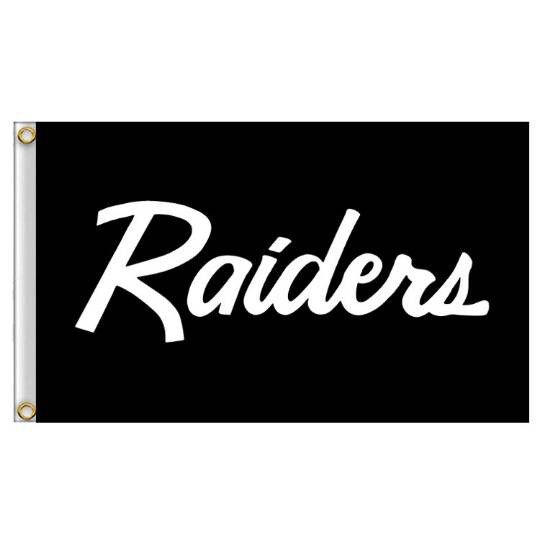 Raider Flags X2
