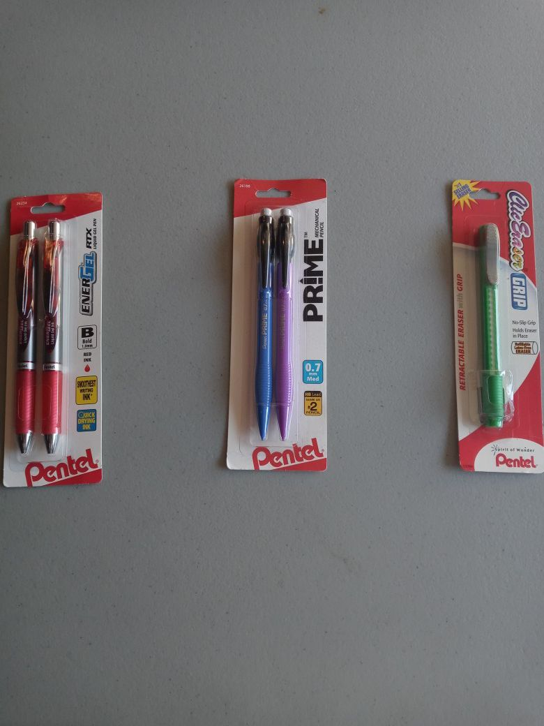 Pens Pencils