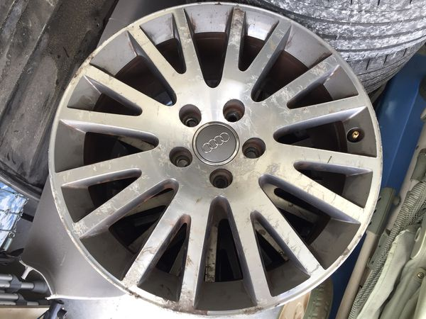 17s Audi Oem Wheels Came Off 2009 Audi A4 Wheels Only Auto Parts