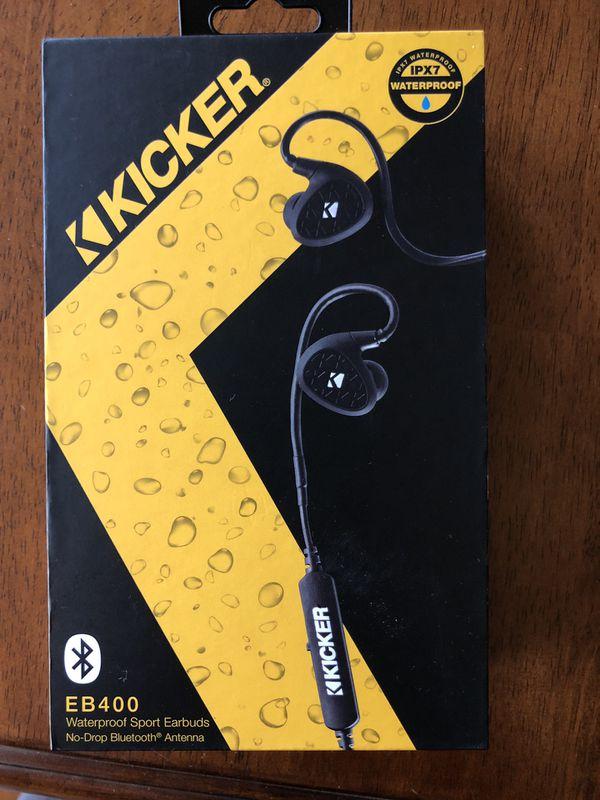 95c79ceb907 Kicker EB400 Waterproof Sport Bluetooth Earbuds for Sale in Kings ...