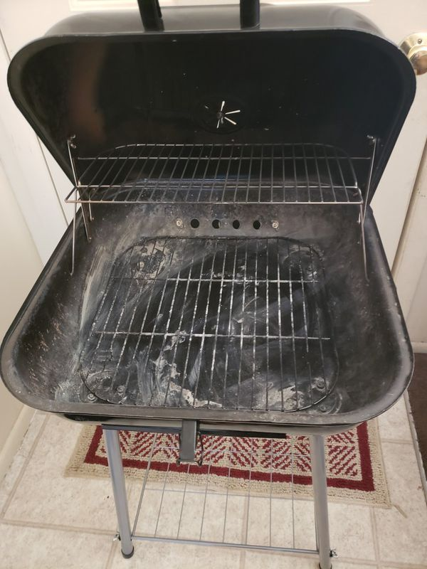 Once Used Charcoal Grill