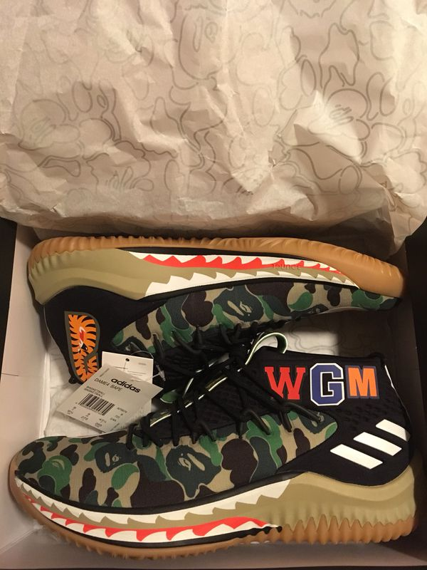 261091f667d7 Adidas Damn Bape size 9.5 DS (Clothing   Shoes) in Fremont