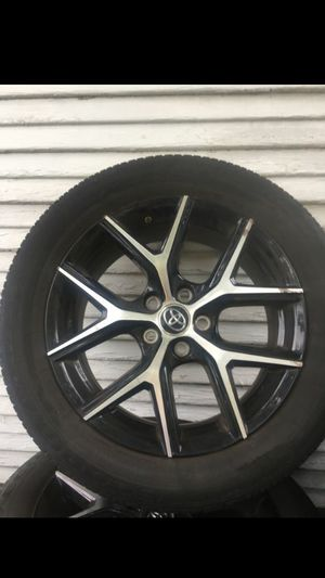 18 inch rims and tires (RAV4/Tacoma) for Sale in Oxon Hill, MD