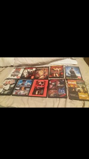 Dvd movies barely used new No Scratches for Sale in Graham, NC