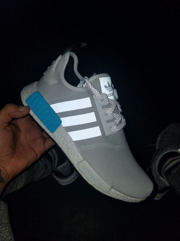 345d70d8a Adidas NMD R1 bright cayan for Sale in Houston