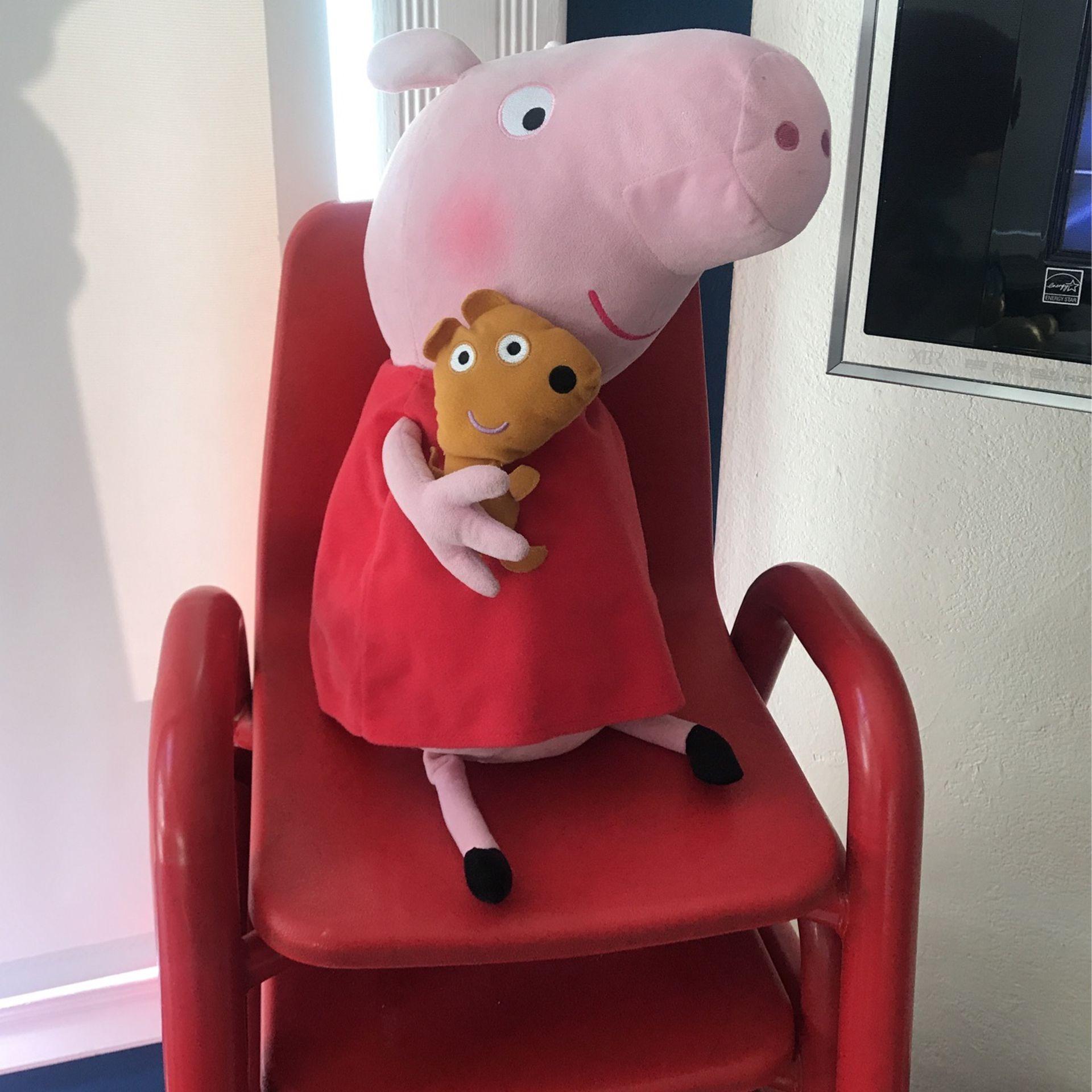 Large Peppa pig Stuffy