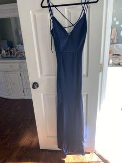 Prom Dress (Midnight Blue gown) Thumbnail
