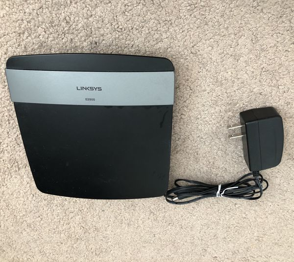 Linksys E2500 (N600) Advanced Simultaneous Dual-Band Wireless-N Router for  Sale in Livermore, CA - OfferUp