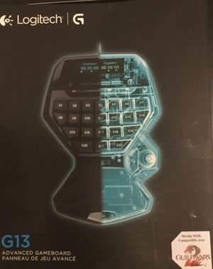Brand New in Box Logitech G13 gamepad for Sale in Chicago, IL - OfferUp