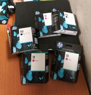 HP Printer Ink (10,11) many colors for Sale in Ferndale, MI