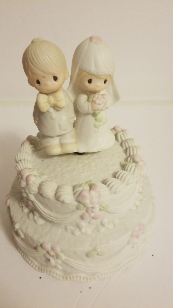 Precious Moments Wedding Cake Topper For Sale In Killeen Tx Offerup