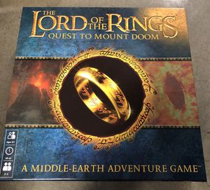 Lord of the Rings Quest to Mount Doom Game for Sale in Manassas, VA