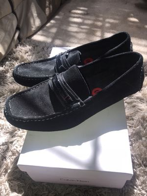 Men black pair of Calvin Klein Loafers for Sale in Fort Washington, MD