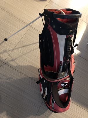 TaylorMade stand golf bag, used condition for Sale in Margate, FL