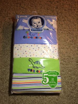 Gerber 5 pack onesies for Sale in Fairfax, VA