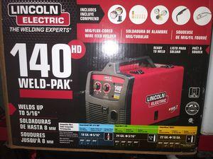 Photo Lincoln welder 140hd