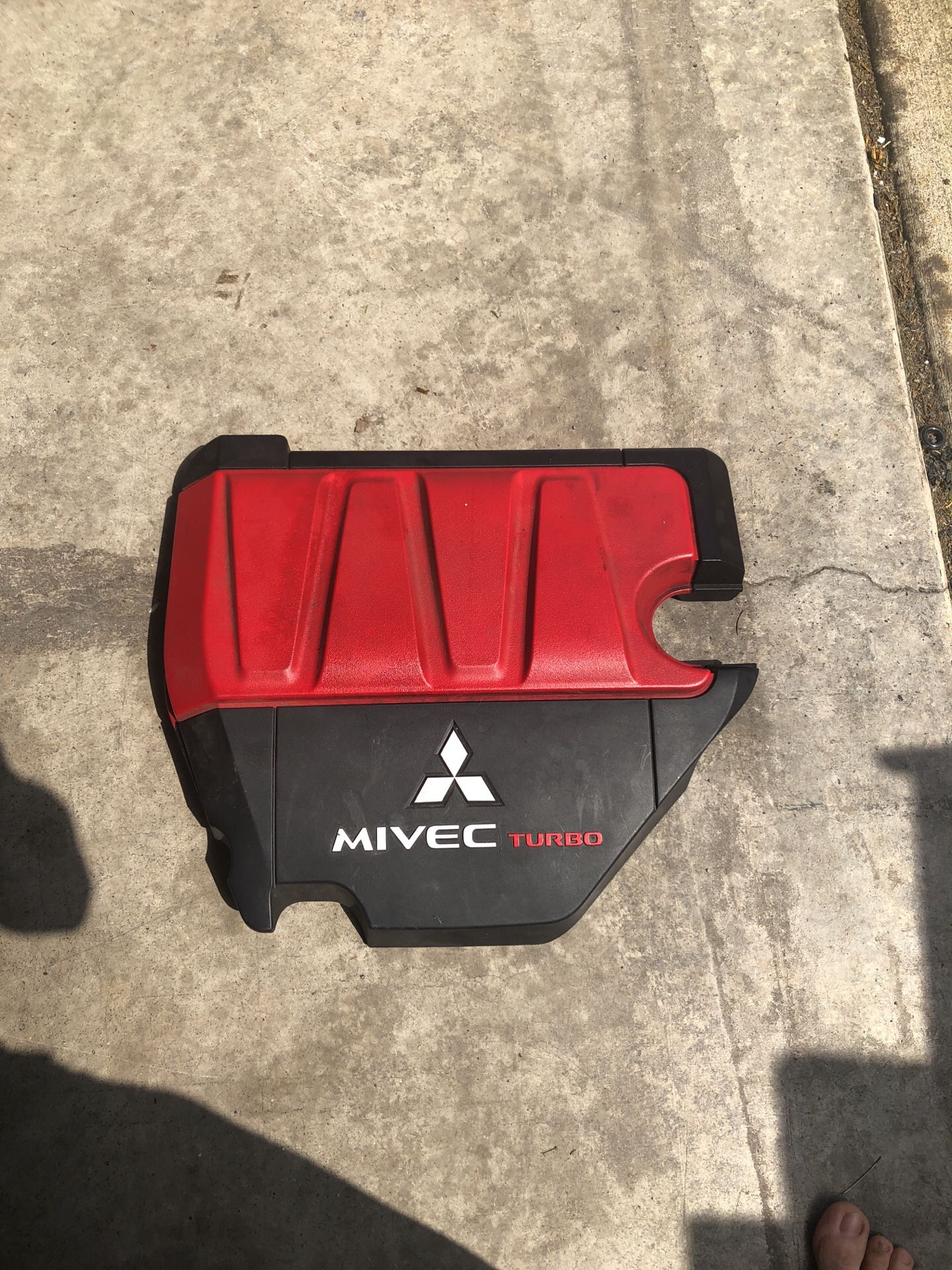 Evo X valve cover plastic