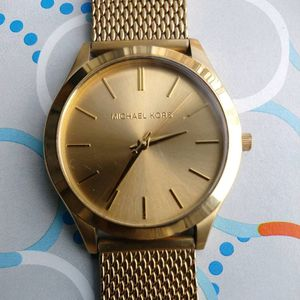 Photo Michael Kors Gold Plated Watch for Men