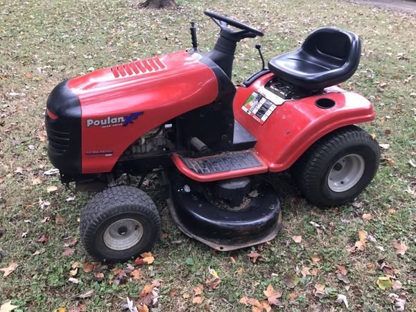 Poulan Xt 42 Gear Drive Riding Mower