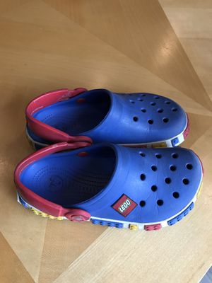 Lego crocs toddler size 12 13 for Sale in Castro Valley, CA