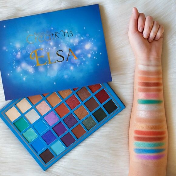 Elsa eyeshadow palette