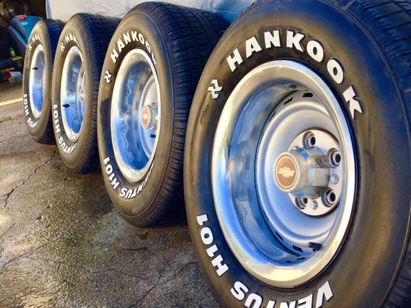 """Offer Up Dallas Tx >> 15x8"""" Chevy C10 Rally Wheels n' 275/60/15 tires for Sale in Dallas, TX - OfferUp"""