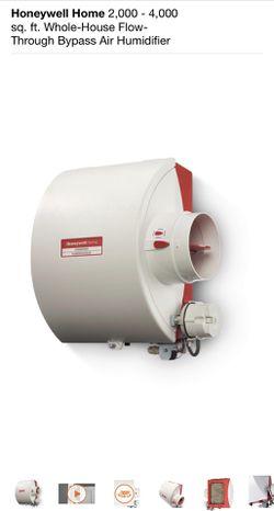 HONEYWELL 2,000-4,000 sq. ft Whole House Air Humidifier Thumbnail