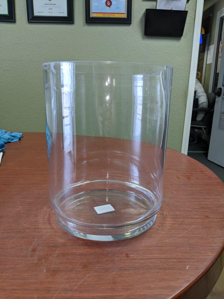 New Heavy Glass Vases