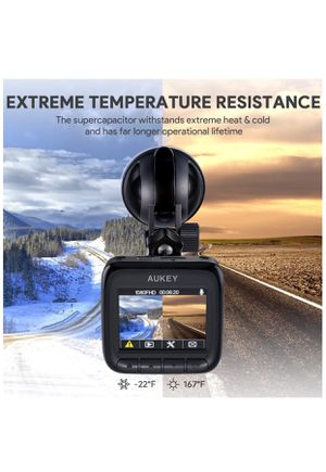 """AUKEY Dash Cam, Dashboard Camera Recorder with Full HD 1080P, 6-Lane 170° Wide Angle Lens, 2"""" LCD and Night Vision for Sale in Holly Springs, NC"""