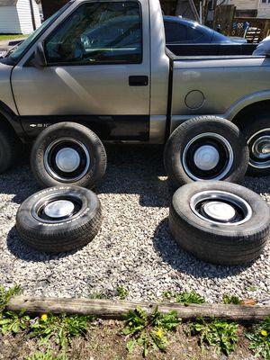 Photo Chevy rally wheels