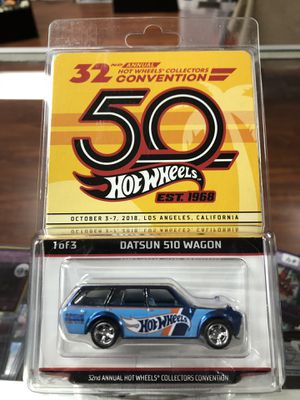 Datsun 510 Wagon; 32nd Convention;Hot Wheels for Sale in La Habra, CA