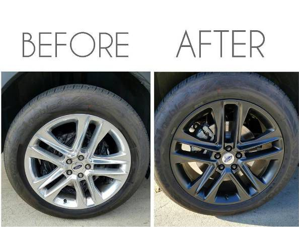 Plasti Dip Your Rims  Paint your Wheels  Affordable and Fast for Sale in  Irvine, CA - OfferUp