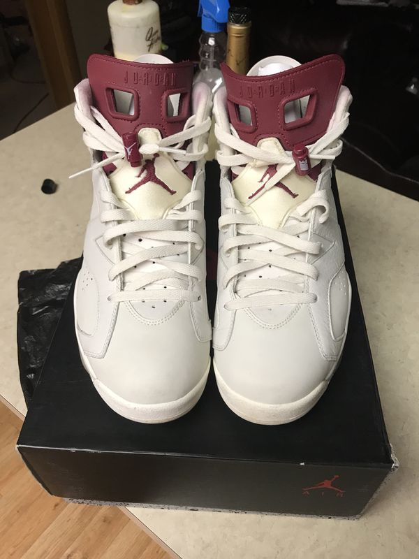 fa7f879c72ba Air Jordan retro 6 maroon for Sale in Jonesboro