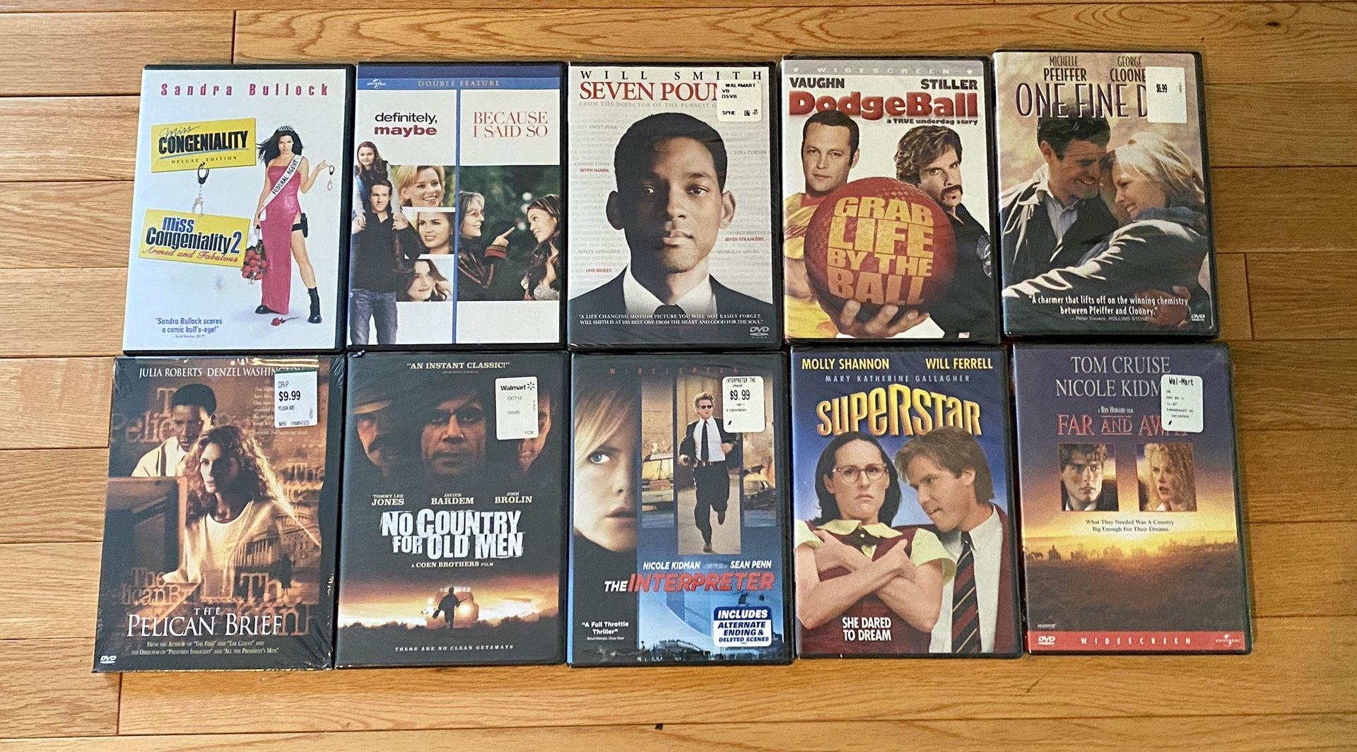 DVD lot of 10