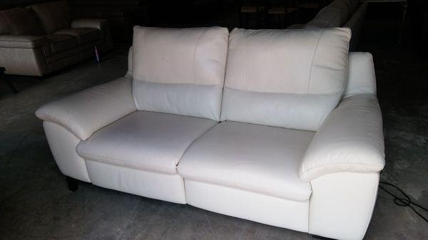 Stefano Italian leather reclining sofa (Furniture) in Decatur, GA ...